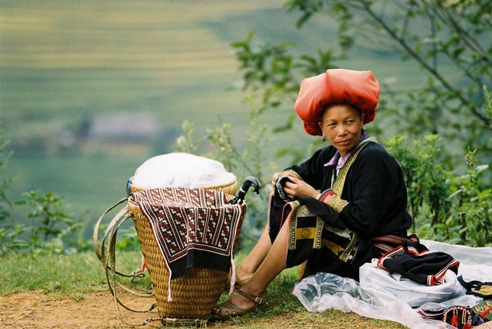 "photoblog image ""Woman of Sapa Minority"""